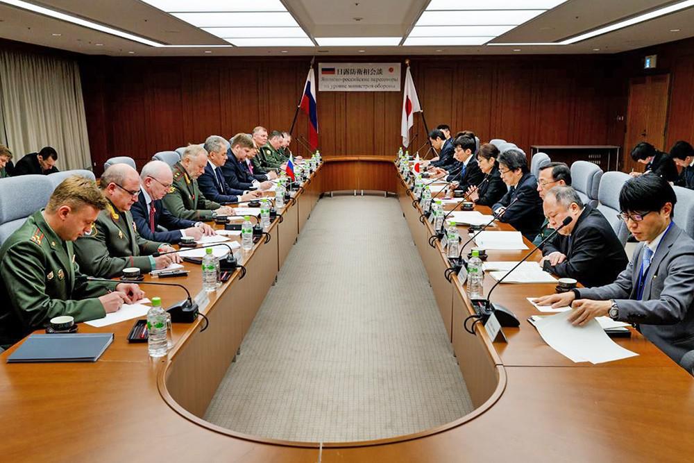 Переговоры министров обороны России и Японии в Токио