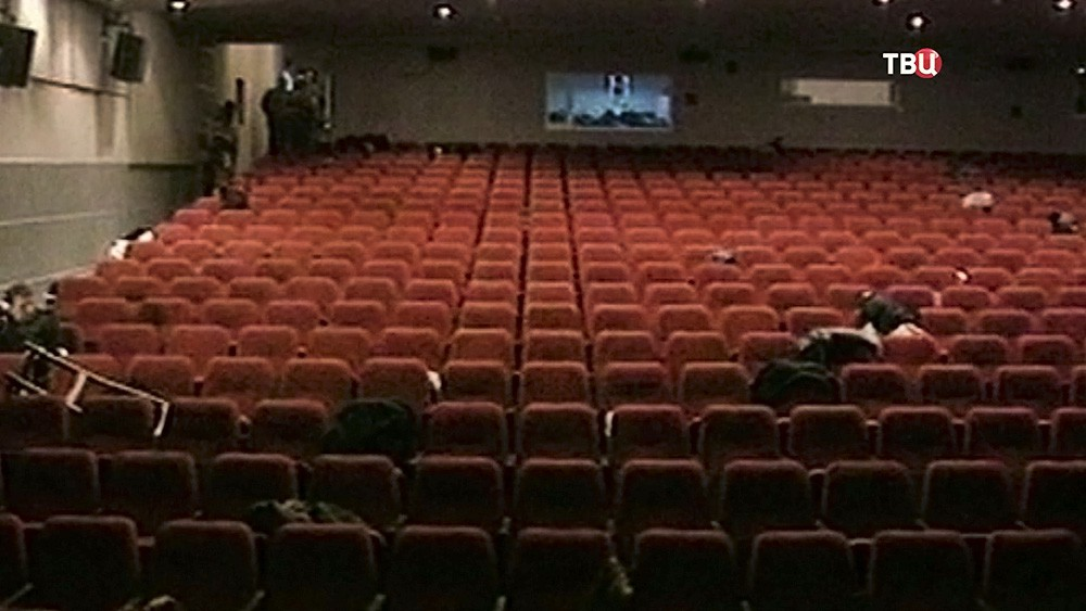 Захват здания театрального центра на Дубровке