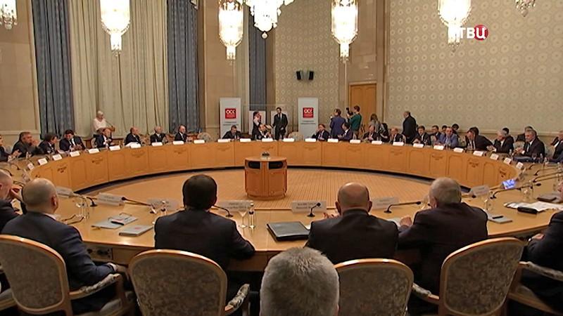 Заседание в Объединенной судостроительной корпорации