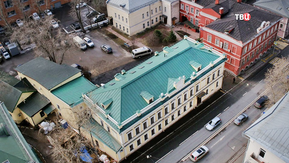 Итоги реставрации памятника архитектуры в центре Москвы