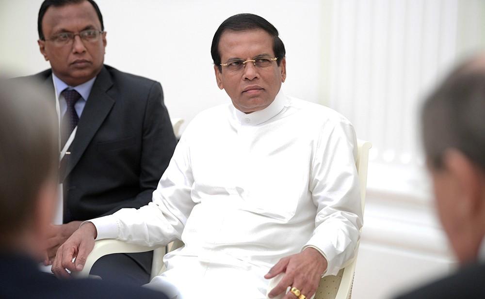 Президент Шри-Ланки Майтрипала Сирисена