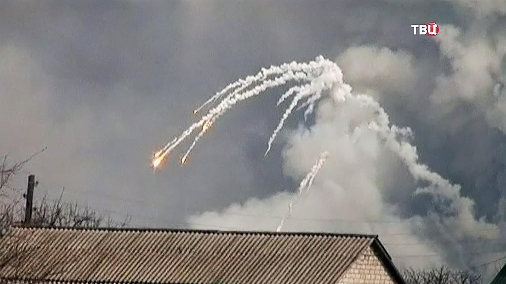 Наскладе боеприпасов вБалаклее продолжаются одиночные взрывы