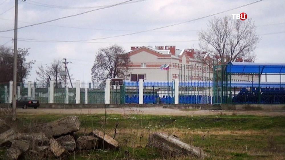 Воинская часть Росгвардии в Чечне
