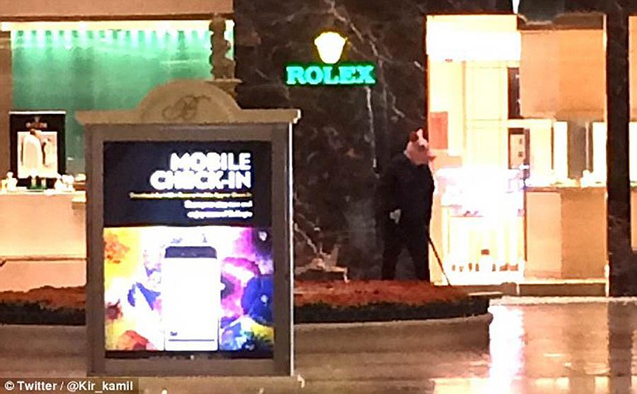 Напавшие на отель-казино в Лас-Вегасе