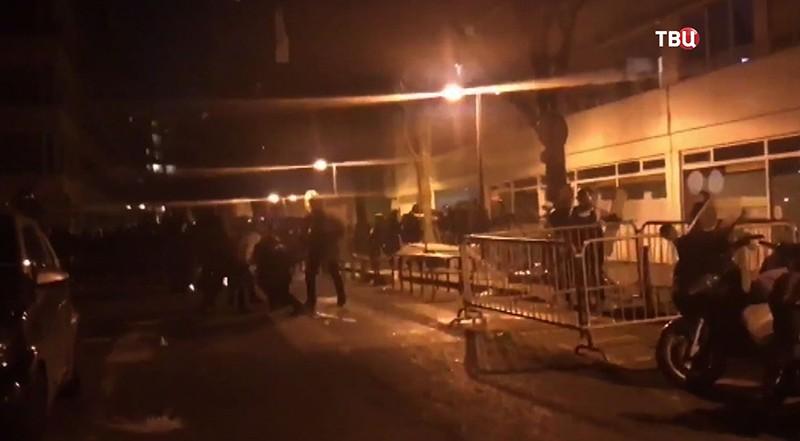 Беспорядки в Париже