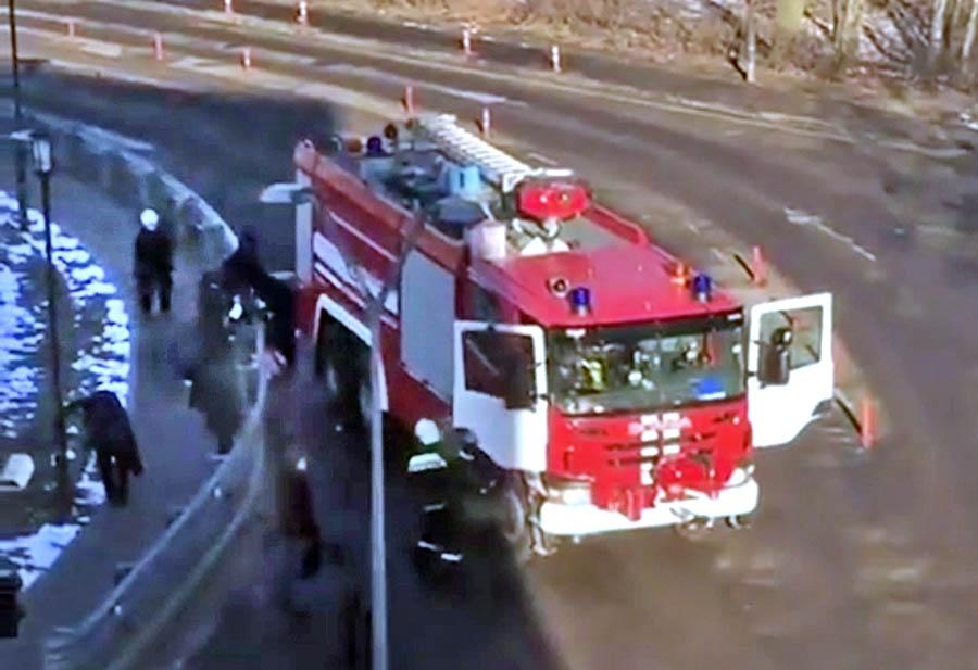Последствия ДТП с участием пожарной машины