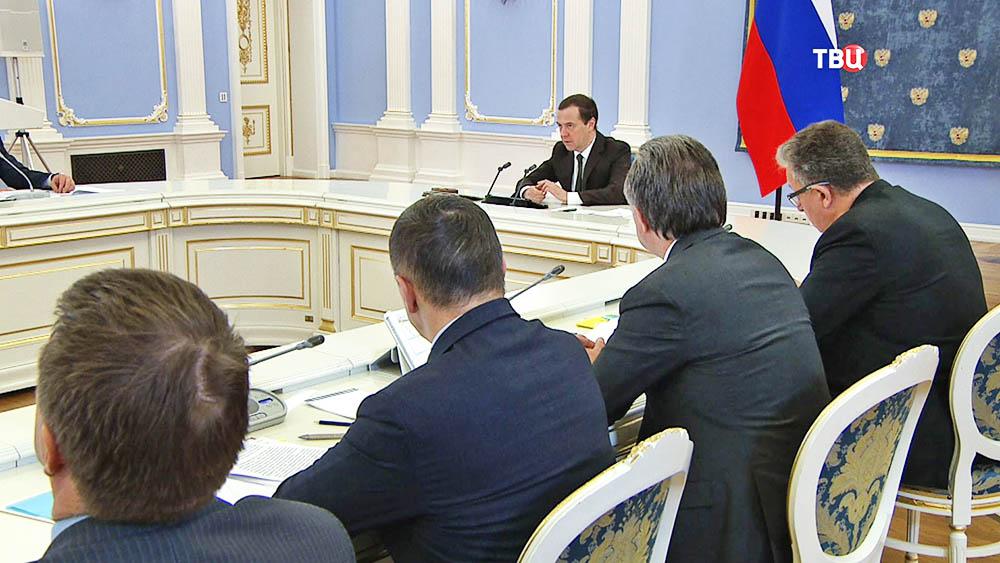 Медведев поручил всрок закончить приведение госпрограмм всоответствие сбюджетом
