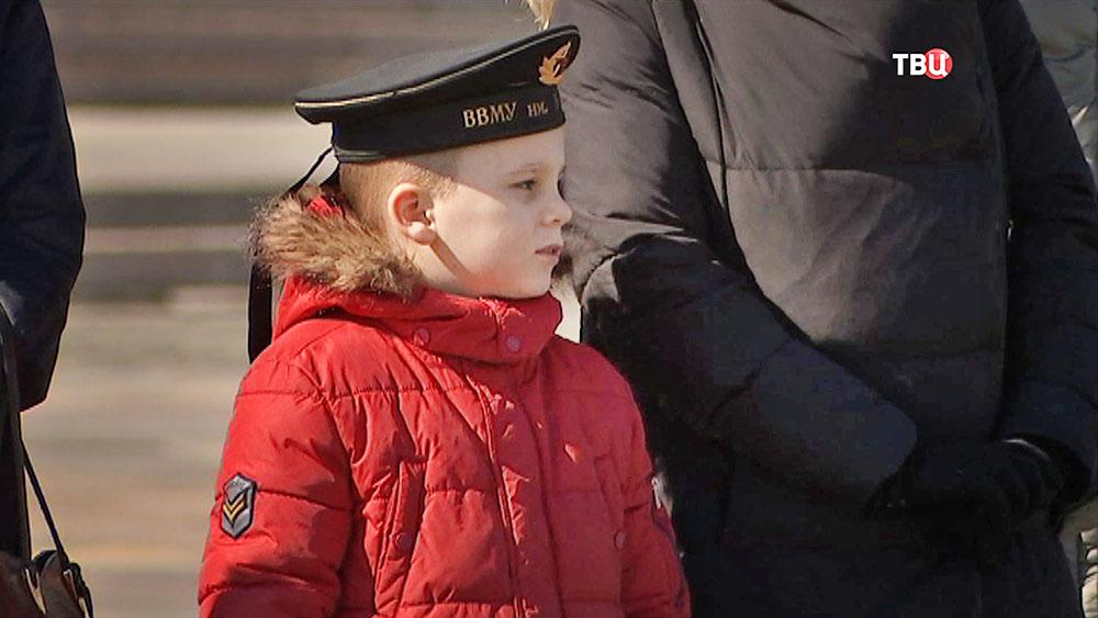 Курсанты Нахимовского военно-морского училища