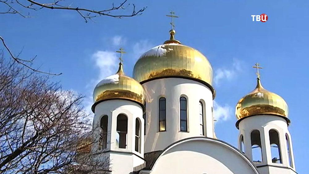 Новый храм Пресвятой Богородицы