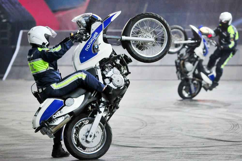Инспекторы ДПС приняли участие в фестивале экстремальных видов спорта