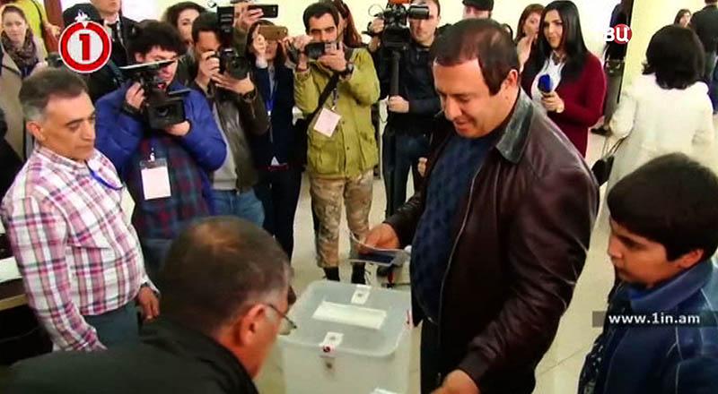 Выборы в Армении