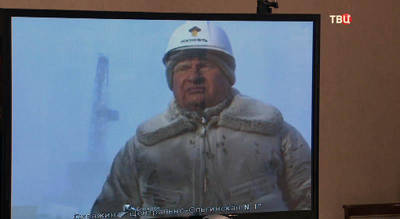 """Главный исполнительный директор ПАО """"НК """"Роснефть"""" Игорь Сечин"""