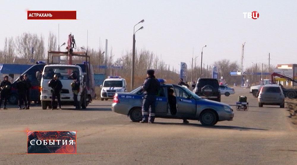 Полиция а месте происшествия
