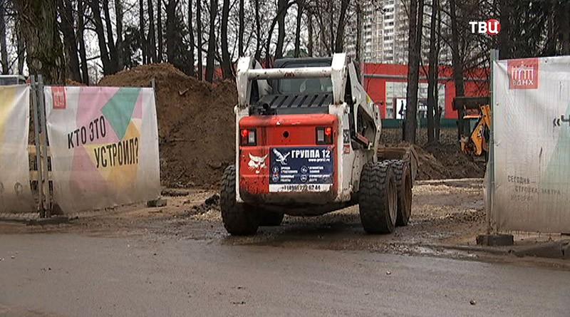 """Строительство """"Диснейленда"""" на ВДНХ"""