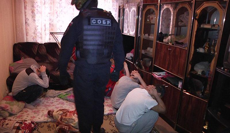 Задержание граждан из республик Средней Азии, подозреваемых в содействии террористической деятельности
