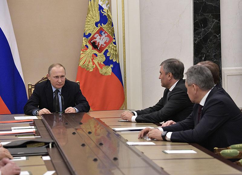 Совещание Совбеза России