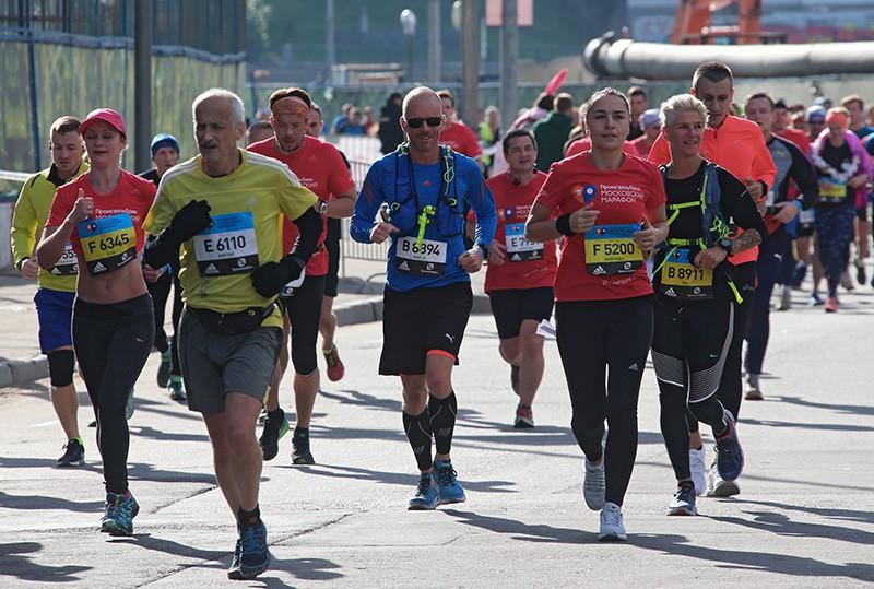 Москвичи приняли участие впервом забеге вокруг «Лужников»