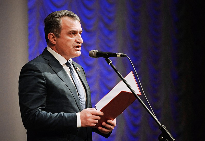 Избранный президент Южной Осетии Анатолий Бибилов