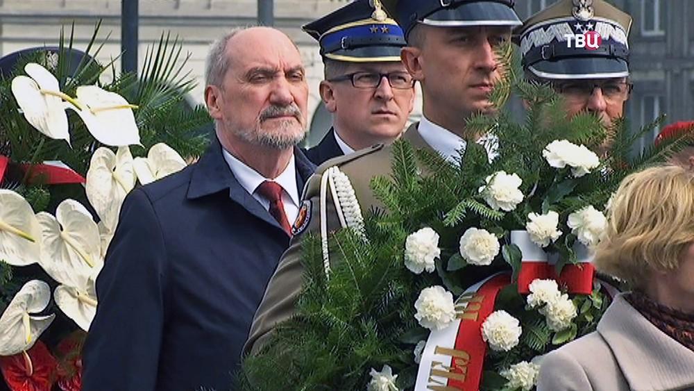 Глава Министерства обороны Польши Антоний Мацеревич