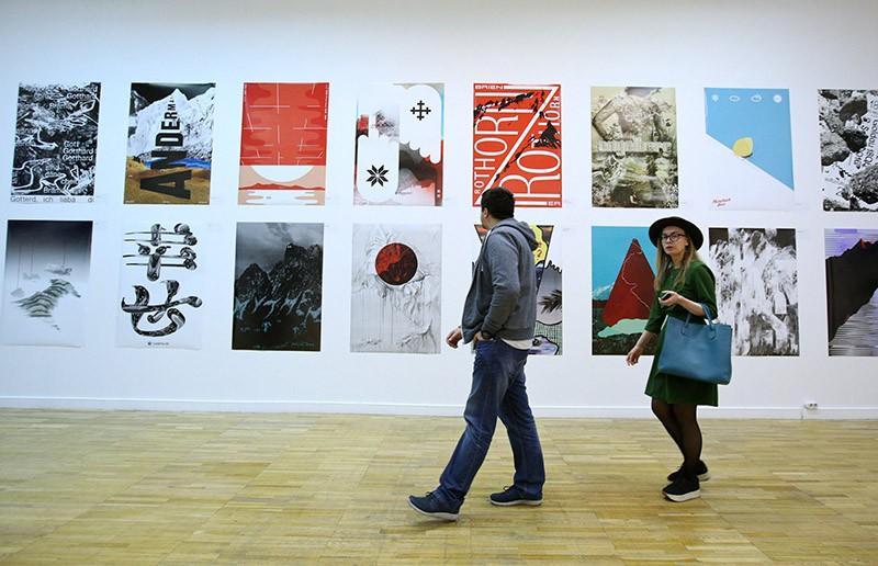 Презентация Первой Московской биеннале дизайна в Центральном доме художника