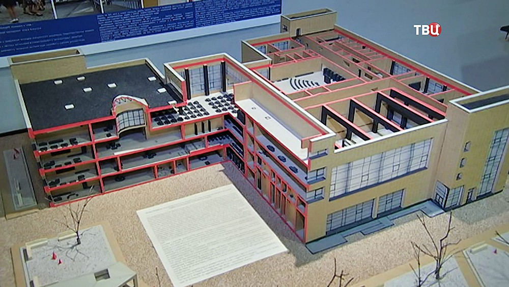 Проект здания школы