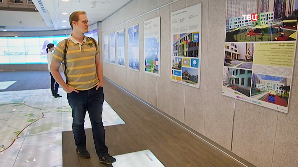 Выставка архитектурных проектов