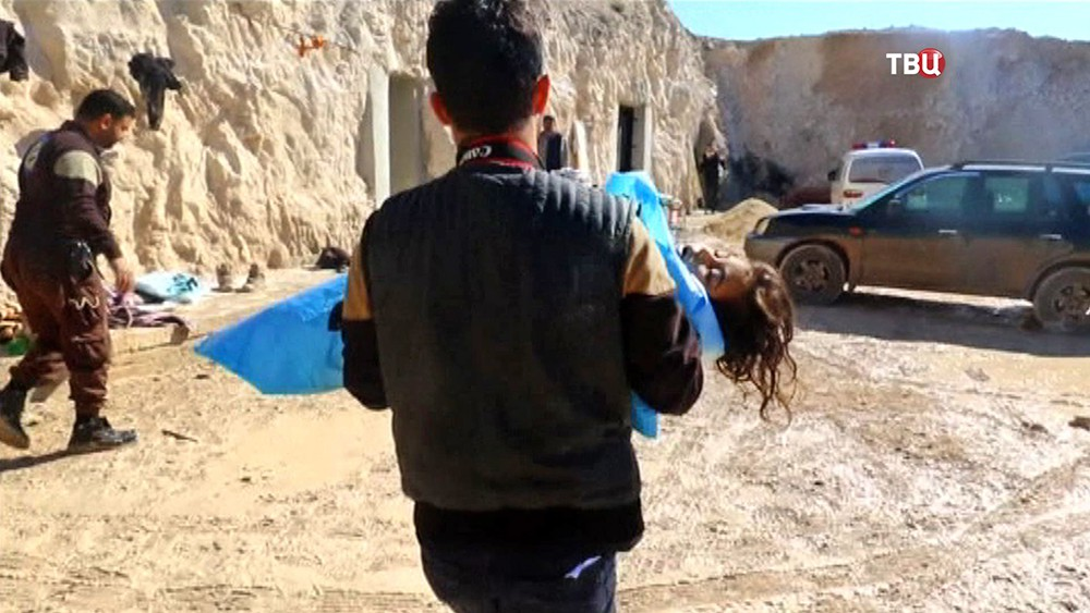Последствия применения химического оружия в Сирии