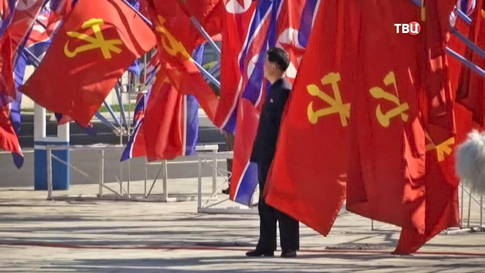Демонстрация в КНДР