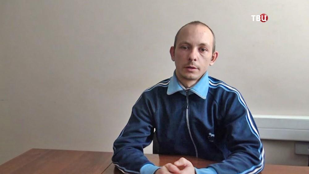 Задержанный по подозрению в шпионаже гражданин Украиниы