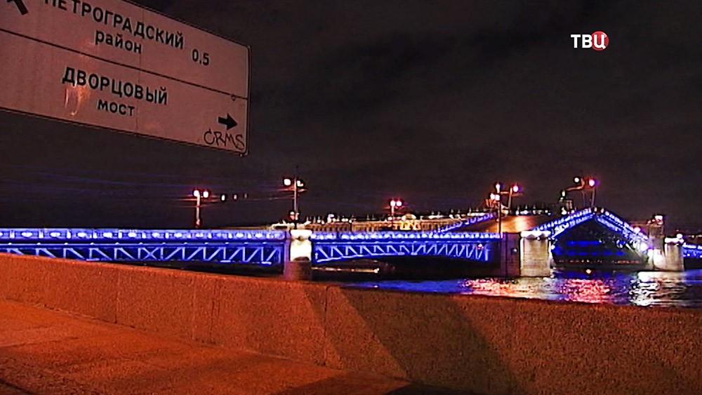 Разведение мостов в Санкт-Петербурге