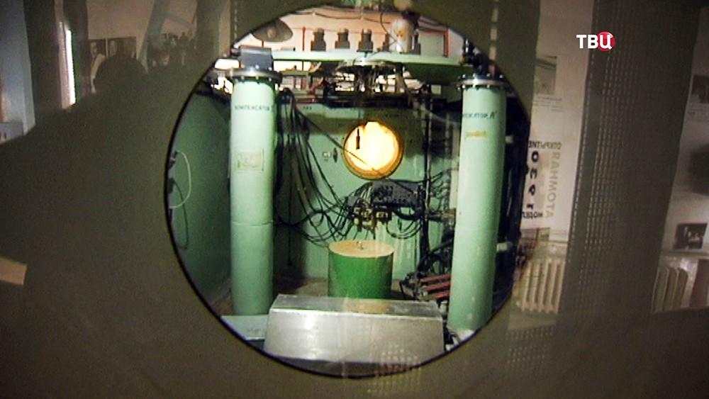 Старый ядерный реактор в Курчатовском институте