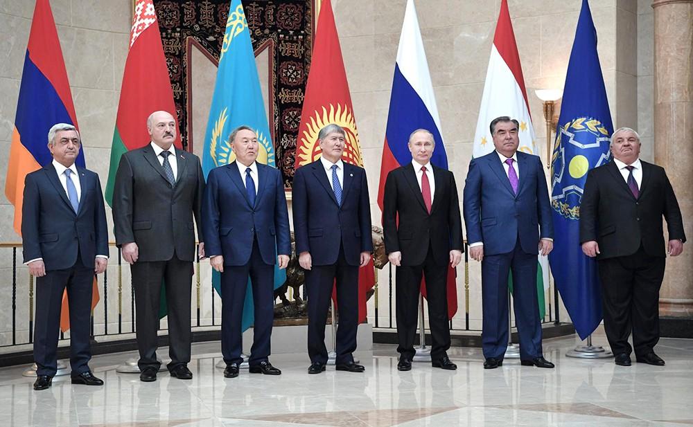 Встреча глав государств – членов ОДКБ