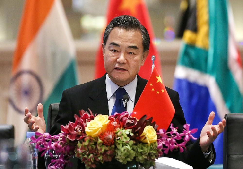 Министр иностранных дел КНР Ван И