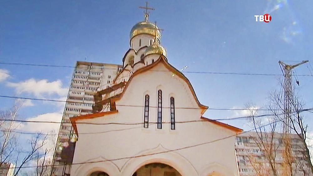 Храм в честь Новомученников и Исповедников Российских