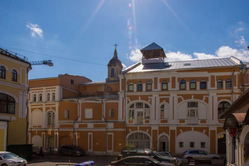Храм пророка Илии на ул. Ильинка