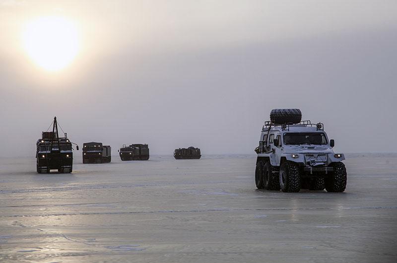 Военная техника в Арктике