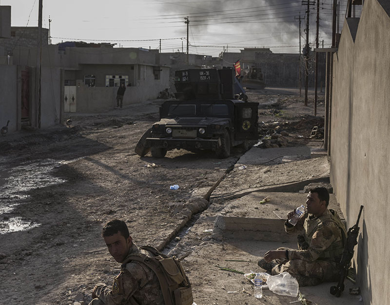 ООН: полмиллиона человек покинули Мосул после начала операции противИГ