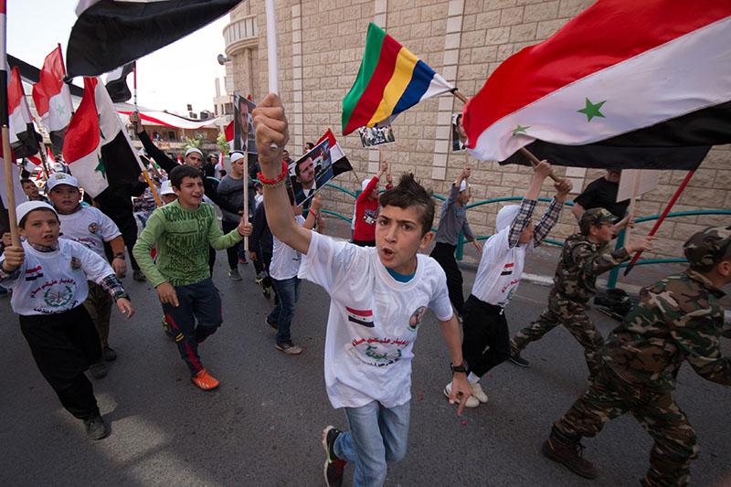 День Независимости в Сирии