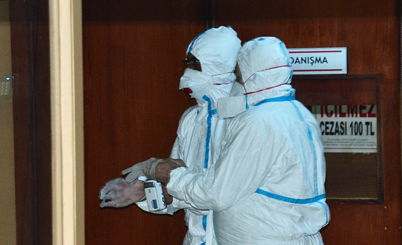Сотрудники химической лаборатории