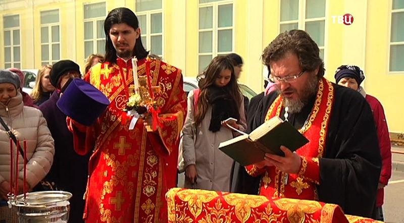 Колокол для храма преподобного Сергия Радонежского