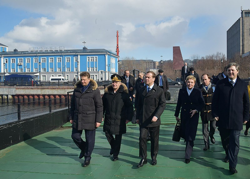 Рабочая поездка Дмитрия Медведева в Мурманск