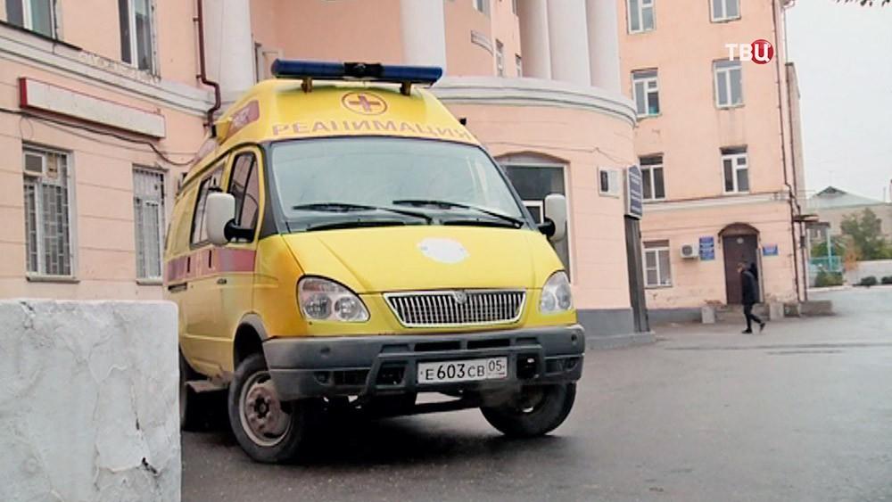 Скорая помощь в Дагестане