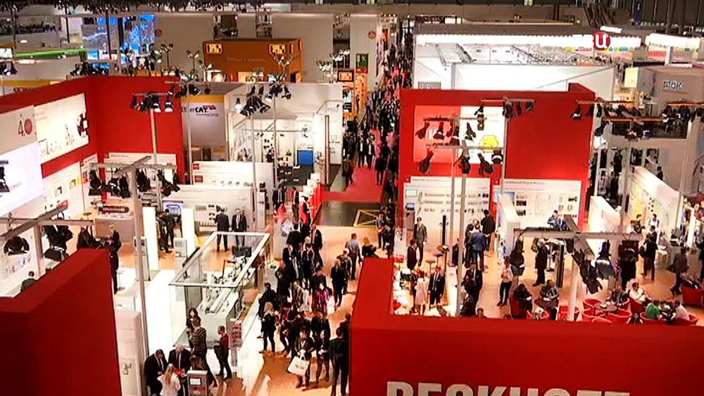 Промышленная выставка в Ганновере