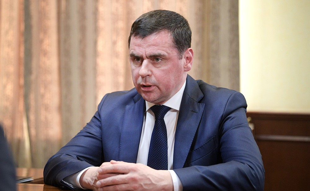 Временно исполняющим обязанности главы Ярославской области Дмитрий Миронов