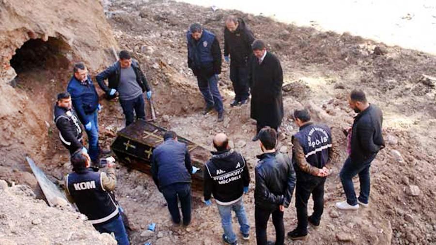 Найденно захоронение русского генерала в Турции