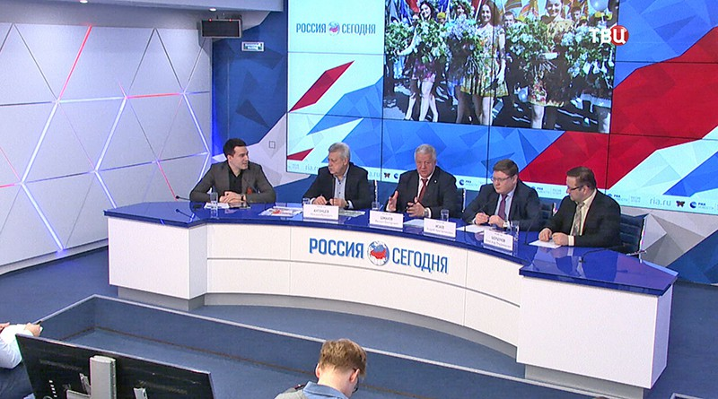 Пресс-конференции в Москве