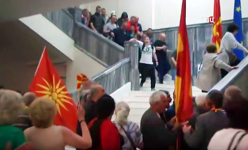 Попытка госпереворота Македонии