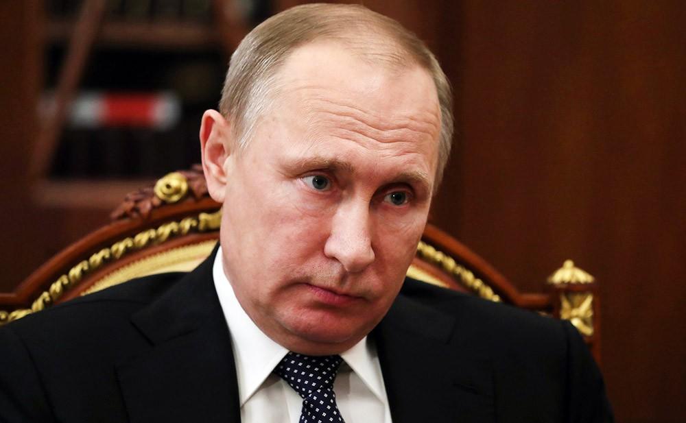 Владимир Путин выслушал доклад руководителя Северной Осетии порезультатам прошедшего года