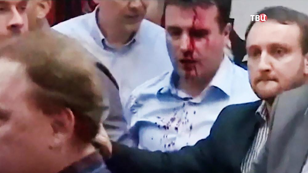 Македонский лидер оппозиции Зоран Заев