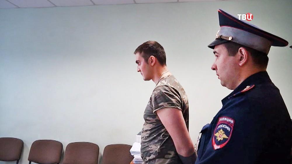 Задержанный автолихач Вадим Олоференко